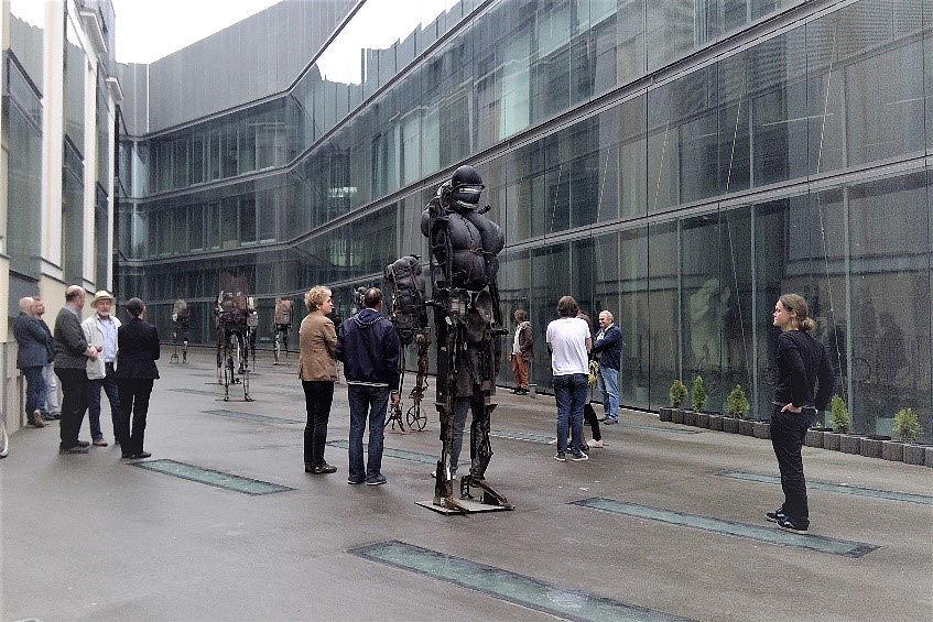 PAKERZY - ekspozycja w Warszawie 4